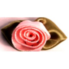 001 117 - Large ribbon roses bag of 100