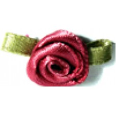 004 168 - Small ribbon roses bag of 100