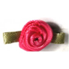 004 175 - Small ribbon roses bag of 100