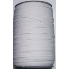 16c 101 - 16 Cord Elastic 100m roll White