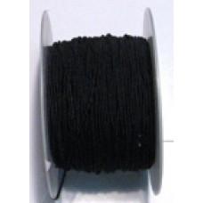224 700 - Hat Elastic Black 100m White
