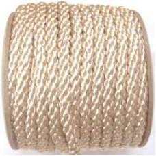 3850 402 - Deep Cream polyester Crepe Cord on 25m rolls