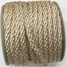 3850 403 - Beige polyester Crepe Cord on 25m rolls