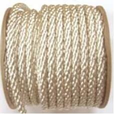 3850 405 - Cream polyester Crepe Cord on 25m rolls