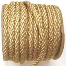 3850 406 - Sand polyester Crepe Cord on 25m rolls