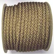 3850 419 - Mushroom polyester Crepe Cord on 25m rolls