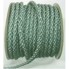 3850 420 - Duck Egg polyester Crepe Cord on 25m rolls