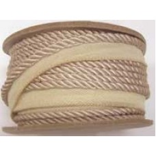 7020 403 - Beige Polyester piping on 20m rolls