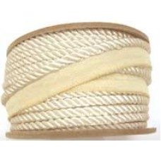 7020 405 - Cream Polyester piping on 20m rolls