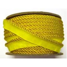 7020 413 - YellowPolyester piping on 20m rolls