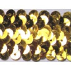 7049 1 - Elasticated sequin 3 row 10m card
