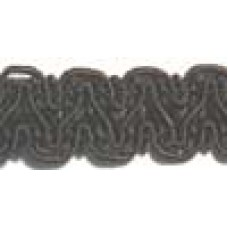 8519 417 - Chocolate Polyester Braid on 25m cards