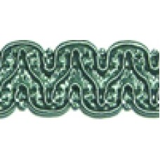 8519 420 - Duck Egg Polyester Braid on 25m cards