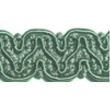 8519 422 - Mint Polyester Braid on 25m cards