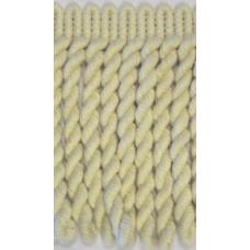 8540 01 - 10cm Natural Cotton Bullion Fringe on 10m cards