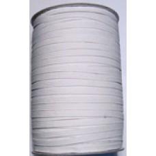 8C 101 - 8 Cord Elastic 250m roll White