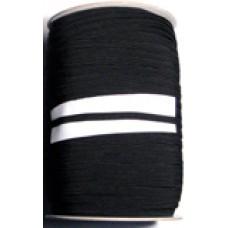 8C 700 - 8 Cord Elastic 250m roll Black