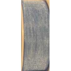 9232 6 611 - Sheer organza ribbon  6mm on 25m rolls