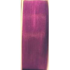 9232 6 644 - Sheer organza ribbon  6mm on 25m rolls