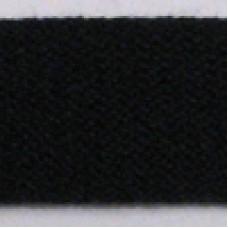 CT 13 700 - 13mm Black cotton tape on 50m roll