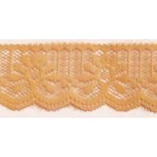 FL200 112 - 32mm Flat lace Peach 33m