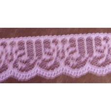 FL200 157 - 32mm Flat lace Lilac 33m