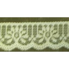 FL200 163 - 32mm Flat lace Lemon 33m