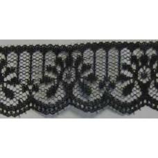 FL200 700 - 32mm Flat lace Black 33m