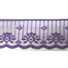 FL201 154 - 50mm Flat lace Purple 33m