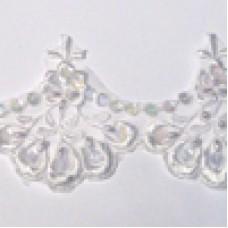 P7182 106 - Bridal lace 13.7m