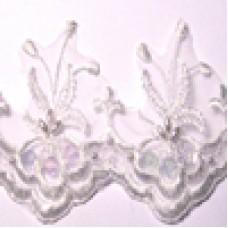 P7183 106 - Bridal lace 13.7m